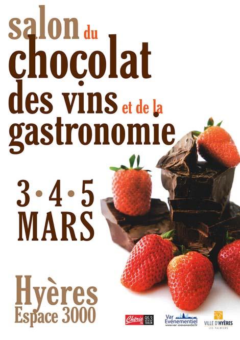 salon du chocolat, des vins et de la gastronomie
